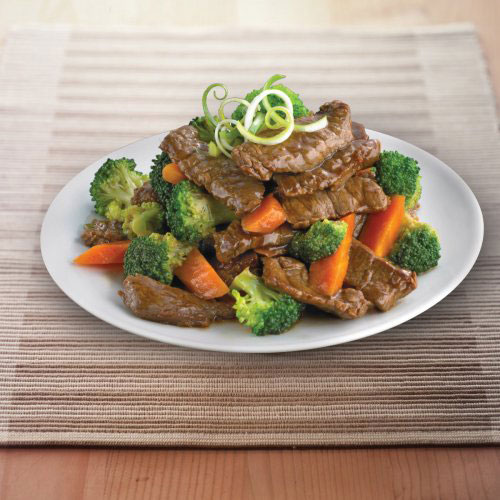 Broccoli Beef in Oyster Sauce