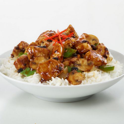 Black Bean Chicken Stir Fry