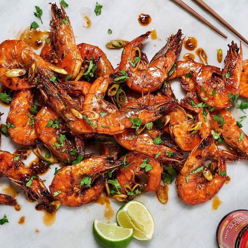 Chiu Chow Chilli Prawns By Sandia Chang