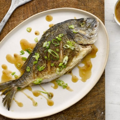 Crispy Fish with Soy Bean Sauce