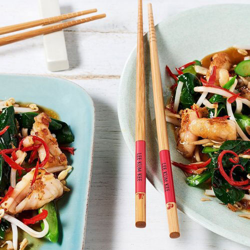 Hong Kong Style Stir Fried Squid & Chinese Broccoli