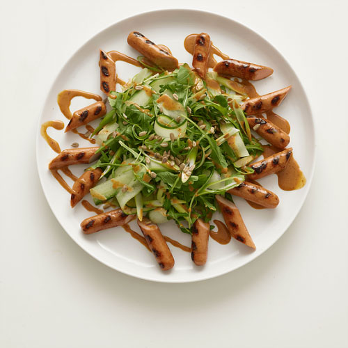 Hot Dog Wasabi Salad