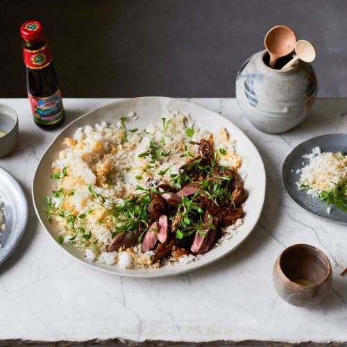 Savoury Duck with Oyster Sauce By Ken Hom