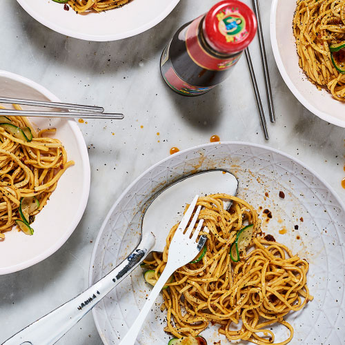 Mother's Oyster Sauce Noodles By Sandia Chang