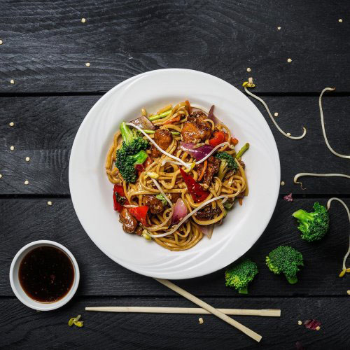 Leftovers Cantonese Stir-fried Noodles
