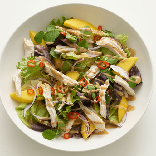 Spicy Mango And Chicken Salad
