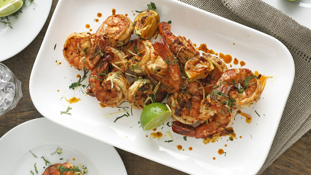 Spicy King Prawn