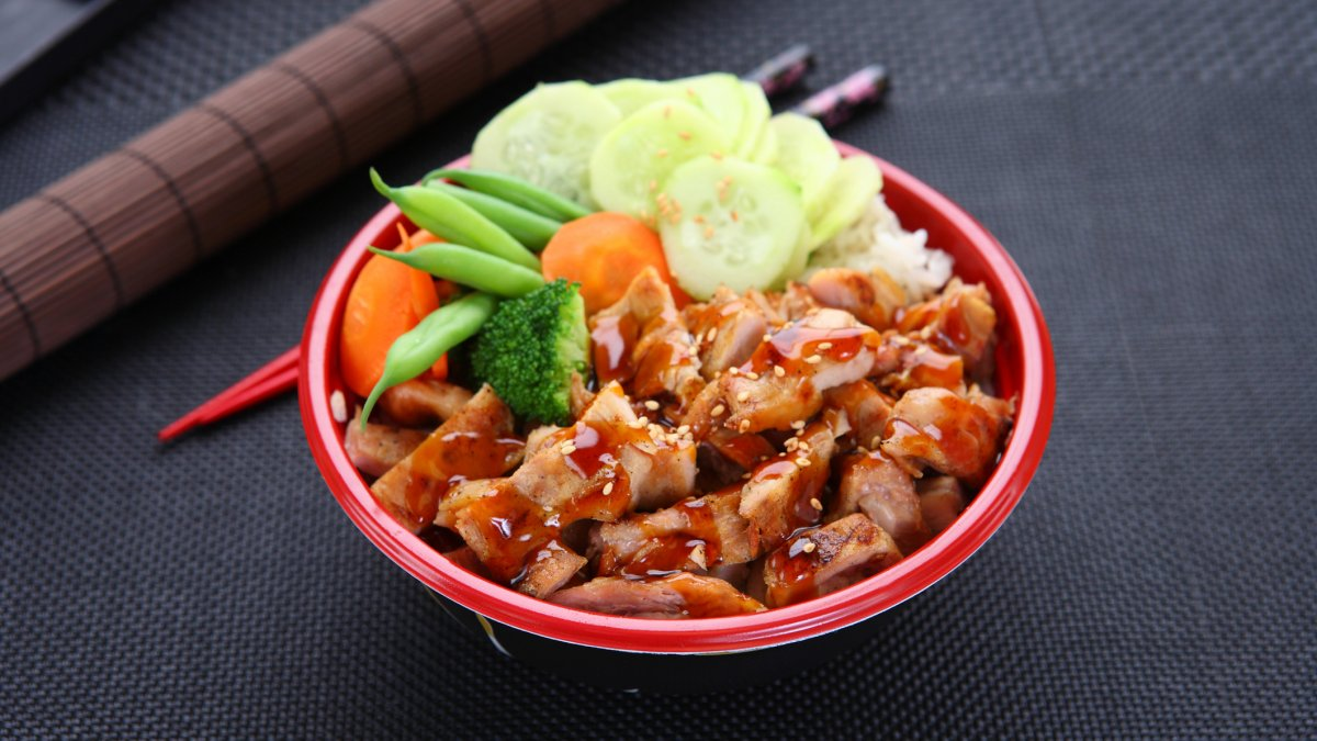 Grilled Chicken in Teriyaki Sauce