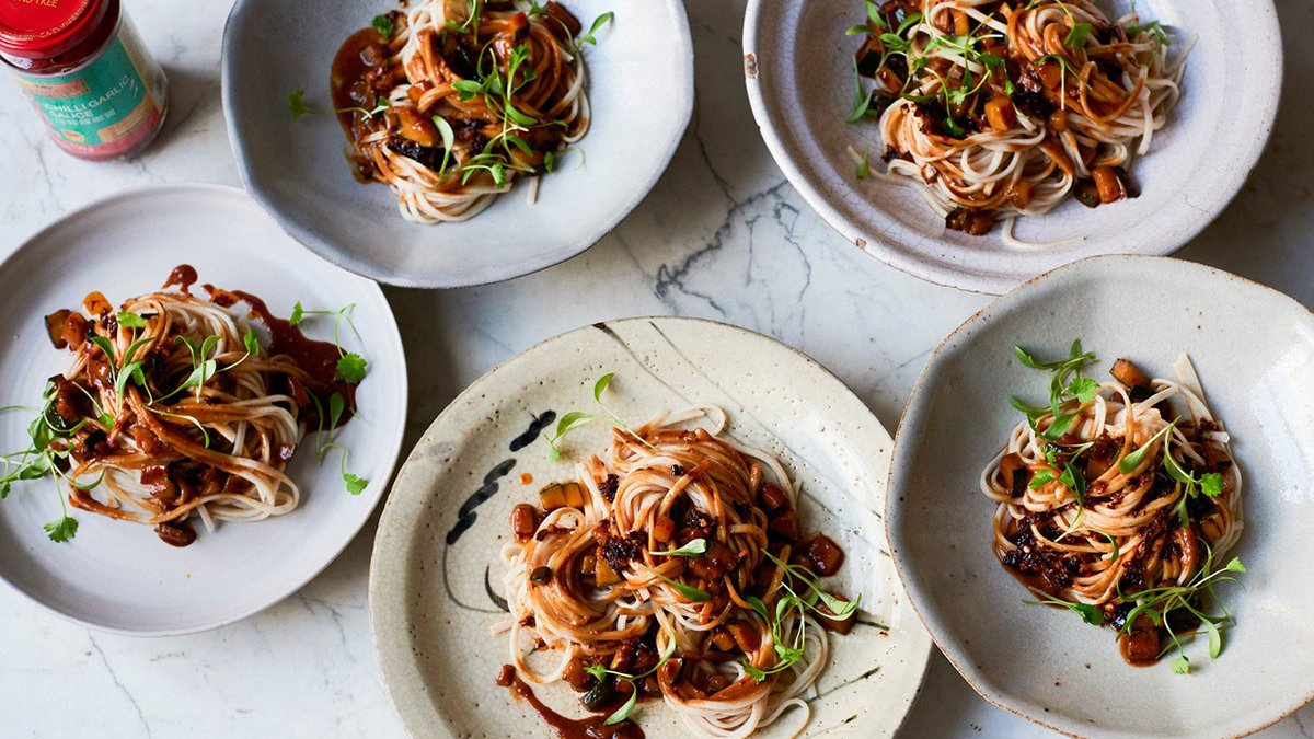 Vegan Friendly Sichuan Dan Dan Noodles By Ken Hom