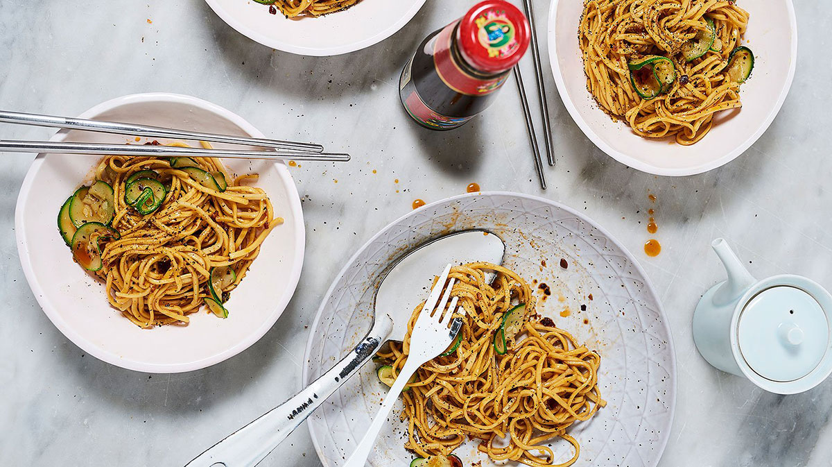 Mother's Oyster Sauce Noodles