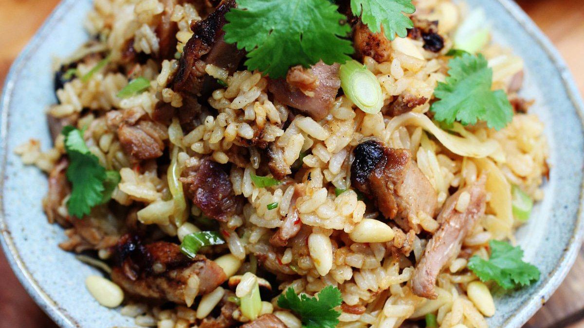 Shredded Roast Duck Fried Rice Ching He Huang Lee Kum Kee